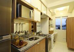 Cozinhas e lavanderias integradas - veja ideias para ambientes pequenos e apartamentos! - DecorSalteado