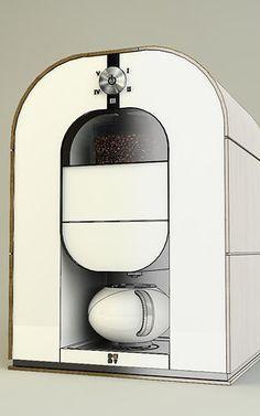 Bonaverde Coffee Maker: Roaster, Grinder, And Barista, All In One