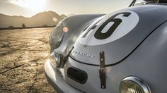 Porsche-356-Le-Mans 1951 Le Mans class-winning Gmund Porsche is beautifully restored