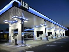 modern gas station design - Google Search
