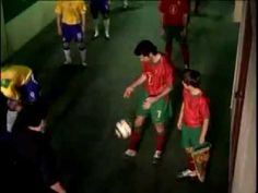 // Soccer/Football // Just for fun. // Ad spot, 'Portugal vs. Brazil' by sports outfitter Nike. // Theme or concept: While waiting to enter the field, players from rival teams get into an informal soccer (football) battle that ranges throughout the stadium, displaying ingenious soccer skills and maneuvers, until they're stopped by someone they forgot about... // There aren't any soccer scenes in 'Random Magic' by Sasha Soren - but the humor in the story is just as quirky from time to time…