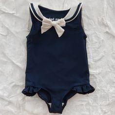 mini rodini sailor swimsuit - swim - baby girl | Thumbe Line