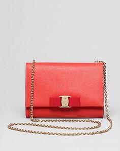 Salvatore Ferragamo Mini Bag - Miss Vara Bow Clip | Bloomingdale's
