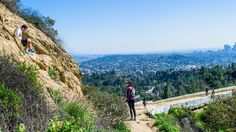 Hiking in Griffith Park #mountain #hollywood #climbing #blue #park #green #griffith #morning #clear #sky #beautiful #scenic #hiking #hike #hikes #spring #california #losangeles #la #visit #usa #city #калифорния #лосанджелес #friendlylocalguides