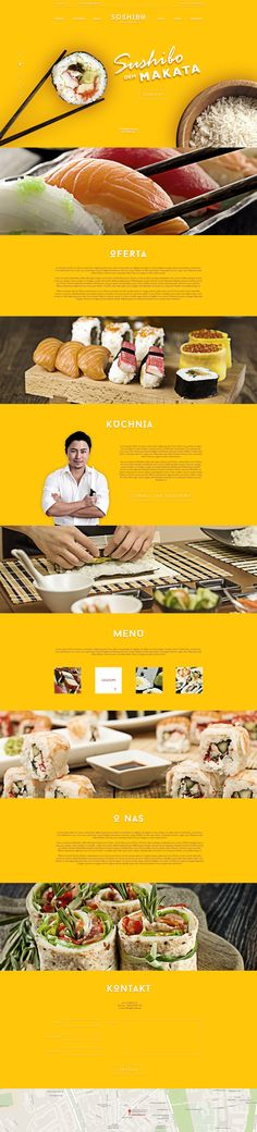 We're surprised by how effective this bright yellow is with this website design - and those product photos are simply stunning. #webdesign #photography #colorpalette