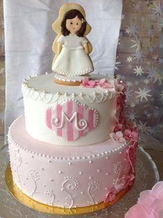 Tarta de comunión. First Communion cake