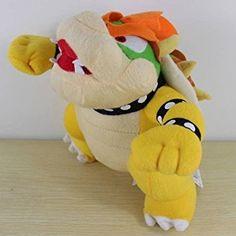"Amazon.com: Super Mario Bros 10"" Bowser Plush Doll: Toys & Games"