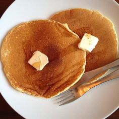 """Even pancakes """"from the box"""" can be made healthier by adding Baby Brain Organics. Nutritional Supplements, Pancakes, Brain, Protein, Organic, Canning, Breakfast, Healthy, Box"""