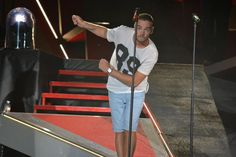 Is he doing the Carlton? Lol Philly 8/13