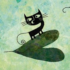 Cats〰➰〰Kittens❗➖图片 Cat on Heart