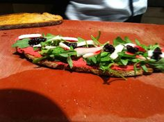 tartine #frecious at Cuisine de Bar