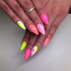 by Ania Leśniewska, Follow us on Pinterest. Find more inspiration at www.indigo-nails.com #nailart #nails #omg #pink #spring