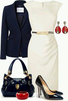 Lovely bag, elegant outfit!!!