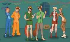 "Flynn [as Nick] (Halloween by Morloth88 @deviantART) #Tangled #Zootopia [For the full description and/or other pictures in the series, see my board ""Halloween""]"