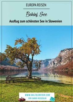 Ausflug im Herbst zum schönsten See Slowenies. Geheimtipp Bohinj im Triglav Nationalpark. Besuch des Bohinj See und Tipp für den schönsten Ausblick auf den See. Bohinj, Viajes, Sustainable Tourism, Small Places, Round Trip