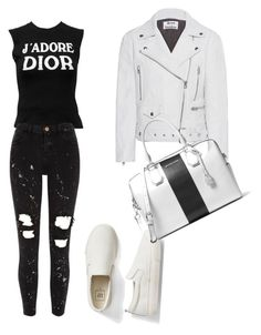 """Untitled #20"" by amandaberger on Polyvore featuring Christian Dior, River Island, Acne Studios, Gap and MICHAEL Michael Kors"
