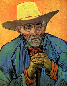 Portrait of a One-Eyed Man - Vincent van Gogh - WikiArt.org