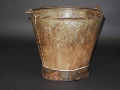 Zinc Whey Bucket - SOLD - #rustic #interior #homewares #interiorstyle #furniture #homedecor #zinc #zincwheybucket #original #bucket #homestyle #antique #retro #old