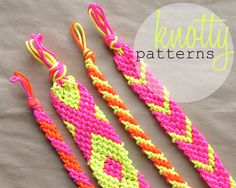 Neon Friendship Bracelets