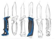 Sketches by Scott Tsukamaki at Coroflot.com