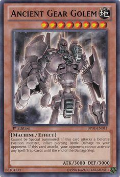Ancient Gear Golem - Yu-Gi-Oh!