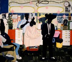 """The painter Kerry James Marshall's retrospective, """"Mastry,"""" opens at the Met Breuer next month. Here is his """"De Style"""" from 1993."""
