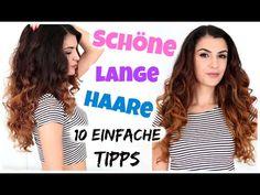 10 TIPPS FÜR LANGE HAARE | WACHSTUM, PFLEGE, DO'S & DONT'S | KINDOFROSY