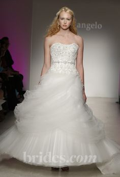 Brides: Alfred Angelo - Fall/Winter 2013. Gown by Alfred Angelo