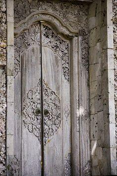 Doors in Bali, Indonesia
