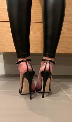 Strappy High Heels, Hot High Heels, Stiletto Heels, Sexy Legs And Heels, Dress And Heels, Talons Sexy, Leggings And Heels, Pantyhose Heels, Beautiful High Heels
