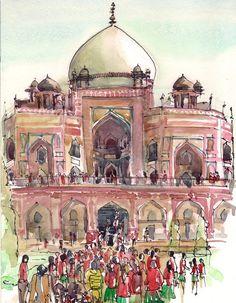 Humayun's Tomb, Old Delhi. Suhita Shirodkar