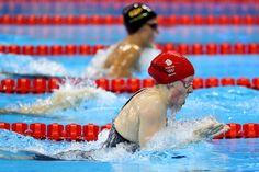 Hannah Miley of Great Britain competes in heat five of the Women's 400m Individual Medley on Day 1 of the Rio 2016 Olympic Games at the Olympic Aquatics Stadium on on August 6, 2016 in Rio de Janeiro, Brazil.