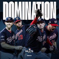 The Nationals never trailed in the NLCS. The Nationals never trailed in the NLCS. Baseball Today, Baseball Players, Baseball Cards, Washington Nationals Baseball, Sports Fanatics, The Big Four, Spring Training, Ml B, World Series