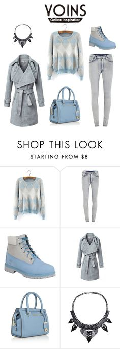 """""""Untitled #420"""" by adancetovic ❤ liked on Polyvore featuring Cheap Monday, Timberland and MICHAEL Michael Kors"""