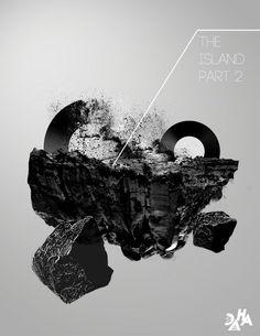 Daha Lee's The Island Part 2 #poster #artwork