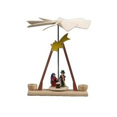 nice Dregeno miniature pyramid - Nativity scene in natural woodAlexander Taron Home Seasonal D Check more at http://christmasshortstory.com/product/dregeno-miniature-pyramid-nativity-scene-in-natural-wood/