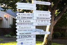Wine Country Photo of the Day shows the direction signs pointed to the Sonoma Valley Wineries. See which one we recommend. Sonoma Valley Wineries, Jacuzzi, Wine Country, Did You Know, Vineyard, Photography, Vine Yard, Fotografie, Photograph