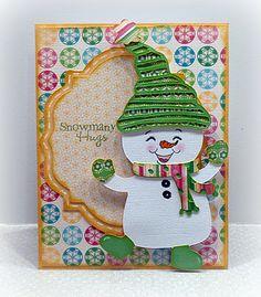 cute snowman card!! he's definitely on my list for 'cards4 christmas' lol