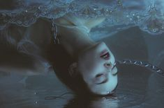 """Dark Underwater Photography by Mira Nedyalkova // """"So much Ophelias and no one to save them"""", this what you may think looking at Mira's ongoing photography series """"Underwater """". """" My photographs are not exactly a photographs, my creations are somewhere in between paintings and photography. In my images I use pain as a beauty, erotic as a psychological way of life. I express myself and my intimate inner life. Indeed, the majority of my works are in the water, this of course is not accidental…"""