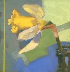 """A Meeting Place"" (Original art by Anne Winthrop Cordin) Flower Paintings, Oil Paintings, Art Flowers, Flower Art, Kids Class, Soft Pastels, Bird Tree, Floral Illustrations, Daffodils"