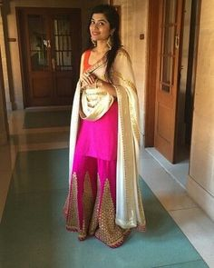 For any query Kindly whatsapp or inbox , we look forward to working with you and playing a part in your special day. Patiala, Churidar, Salwar Kameez, Pakistani Sharara, Pakistani Bridal, Designer Punjabi Suits, Indian Designer Wear, Indian Wedding Outfits, Pakistani Outfits
