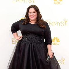 Custom Marchesa // Melissa McCarthy from 2014 Emmys: Red Carpet Arrivals