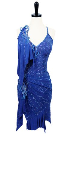 Crystal Reef | Rhythm & Latin Dresses | Encore Ballroom Couture