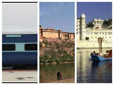 Delhi - Jaipur - Udaipur - Train - Tour 4 Nights including Overnight Train Journeys