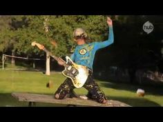 My life is officially over The Aquabats! Burger Rain Music Video - The Hub
