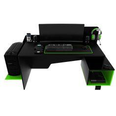 11 amazing gaming desk build images bedrooms gaming desk build rh pinterest com