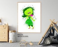 Inside Out Disgust Disgust Print Disney Inside Out Pixar image 8