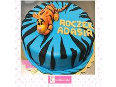 Tort w kształcie tygryska!