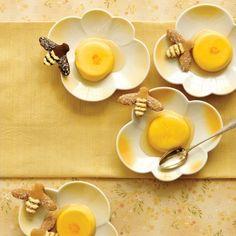 Honey-Saffron Panna Cottas Recipe - Delish.com