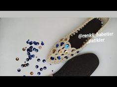 Yazlık ev ayakkabısı (kendi tasarimim) - YouTube Crochet Earrings Pattern, Crochet Shoes, Crochet Videos, Tabata, Stuff To Buy, Bags, Women, Fashion, Slippers